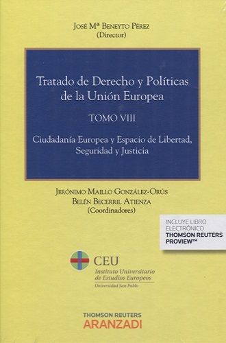 Volume VIII - European Citizenship and the Area of Freedom, Security and Justice
